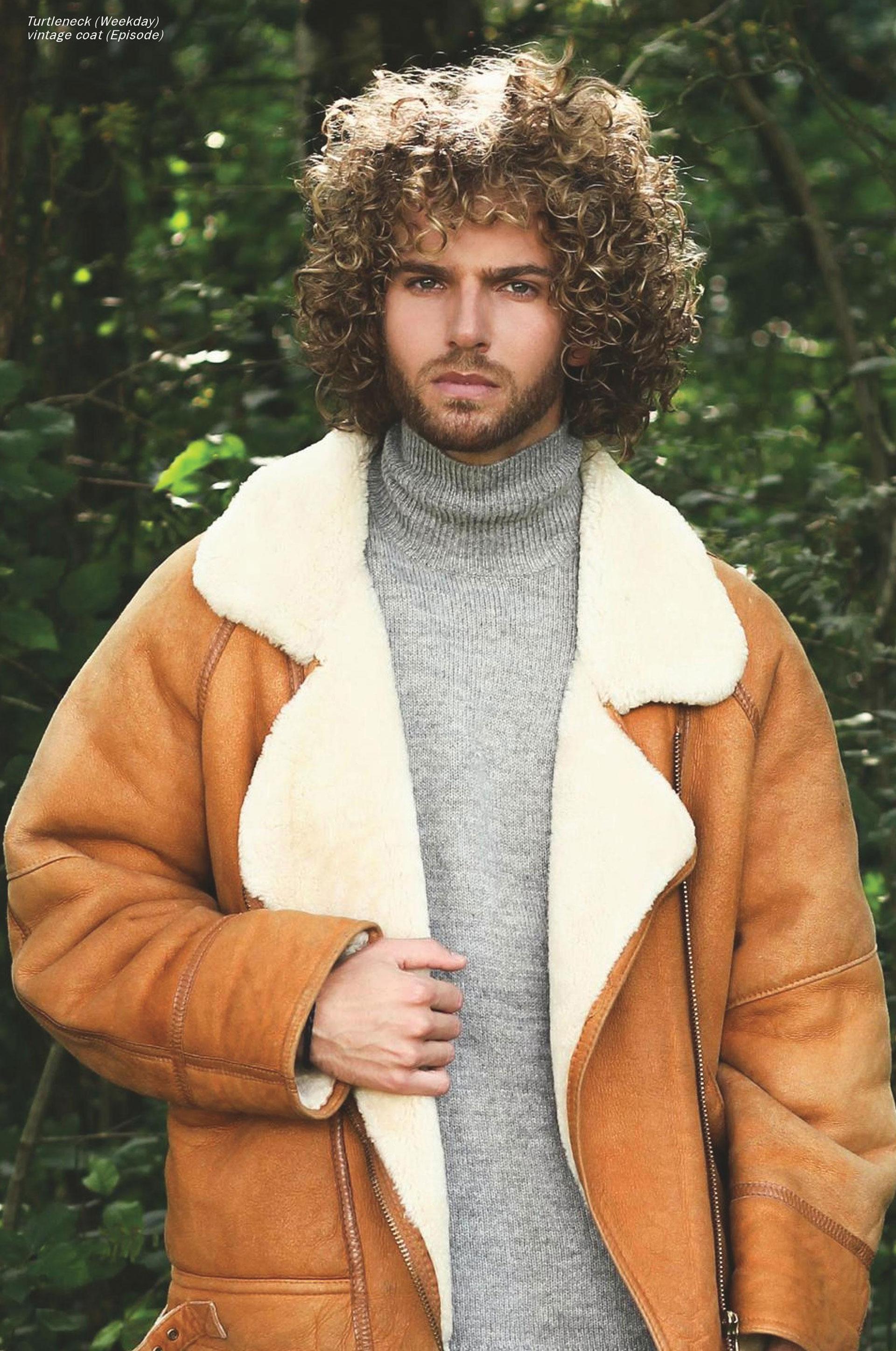 Model: André Haasnoot Publicatie: ELEGANT Magazine Photography: Richard Broekhuizen
